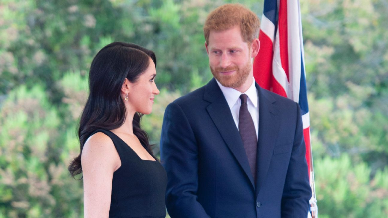 Prince Harry and Meghan Markle visited Dublin on the day of England's World Cup semifinal against Croatia