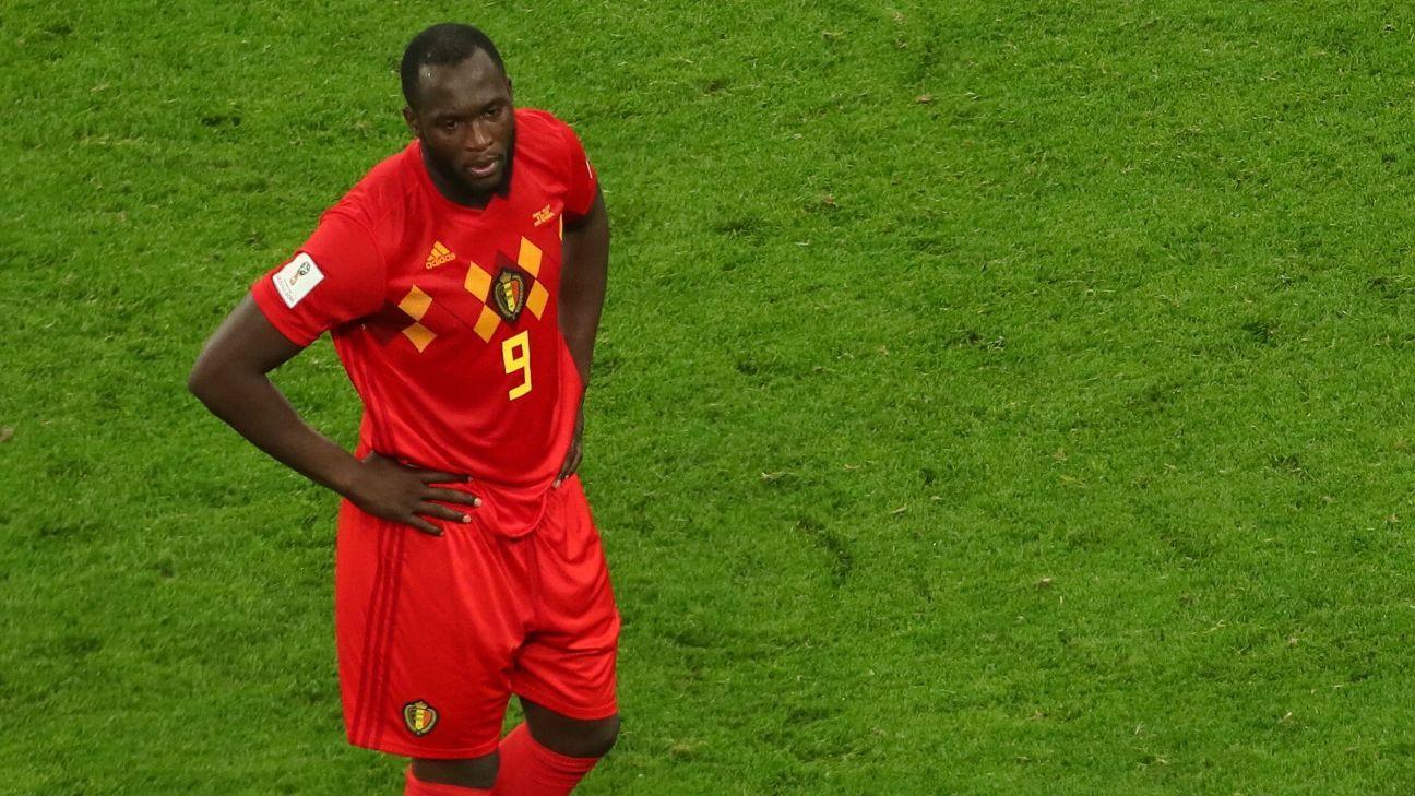Belgium's Romelu Lukaku scored four goals at the World Cup.