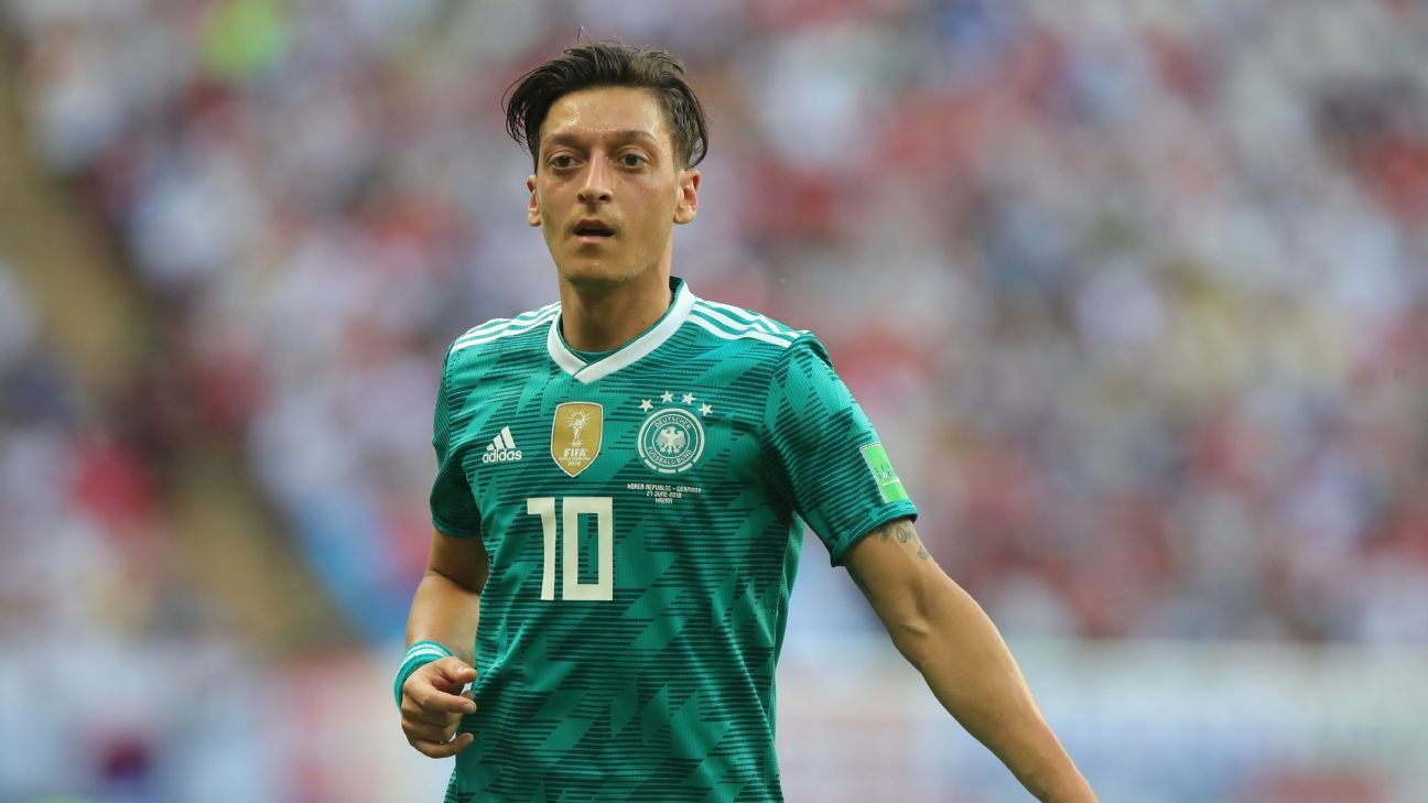 Germany's Mesut Ozil