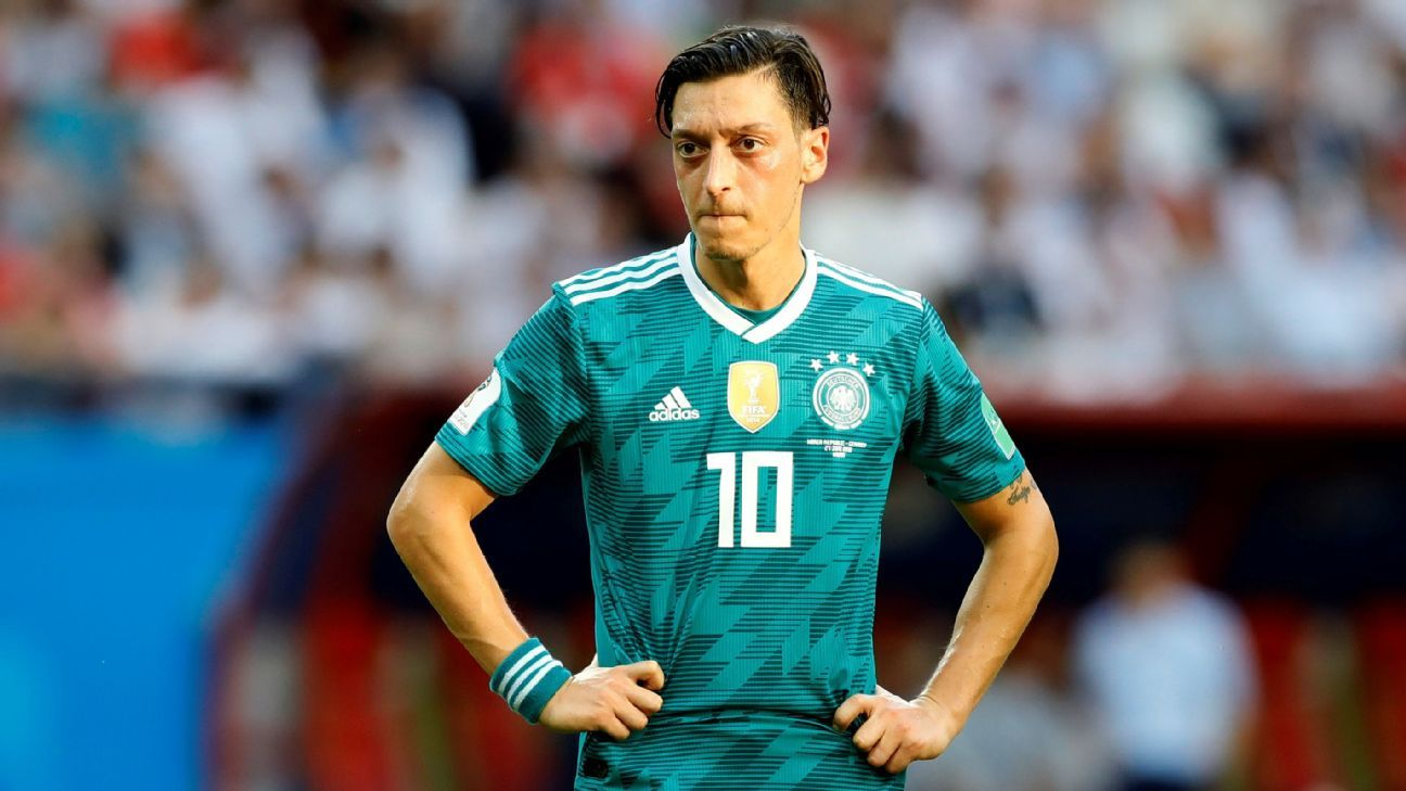 Germany's Mesut Ozil