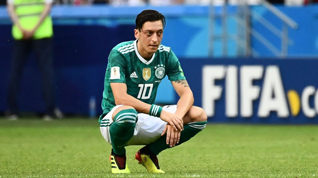 Mesut Ozil's Germany exit worse than any World Cup loss