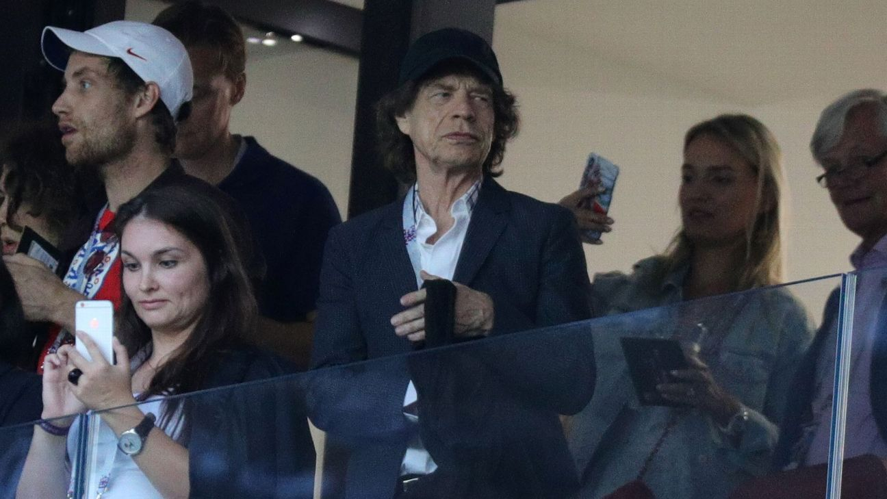Mick Jagger at England Croatia 180711