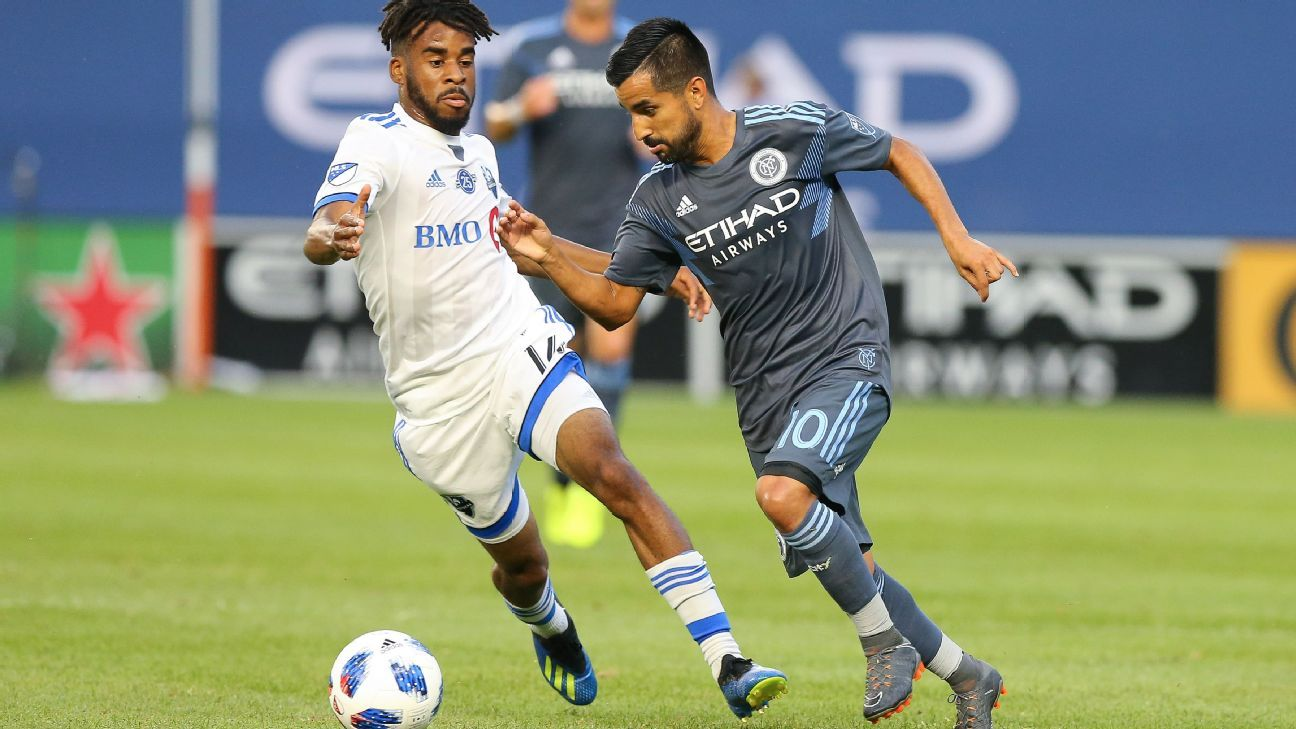 New York City FC snap Montreal Impact's winning streak with 3-0 win