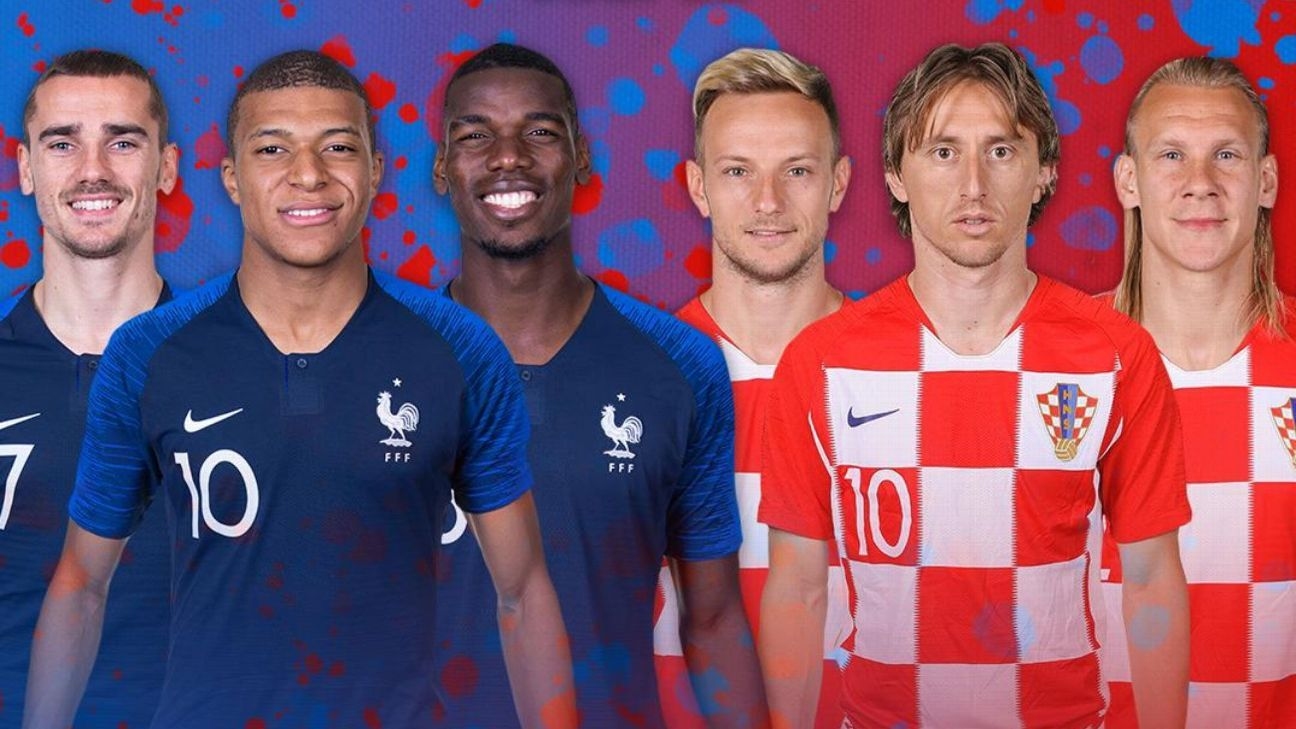 France vs. Croatia: Which side will come out on top in the World Cup final?