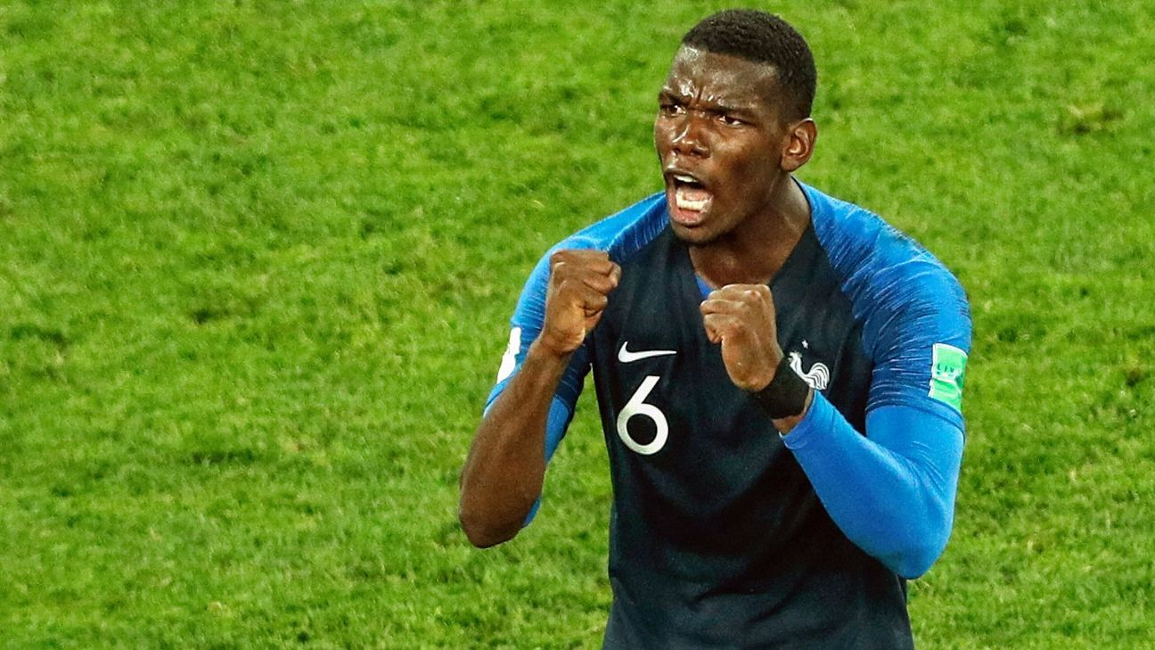 Paul Pogba's not shown his full range of talents at the World Cup but he's still played a key midfield role and with a minimum of fuss.