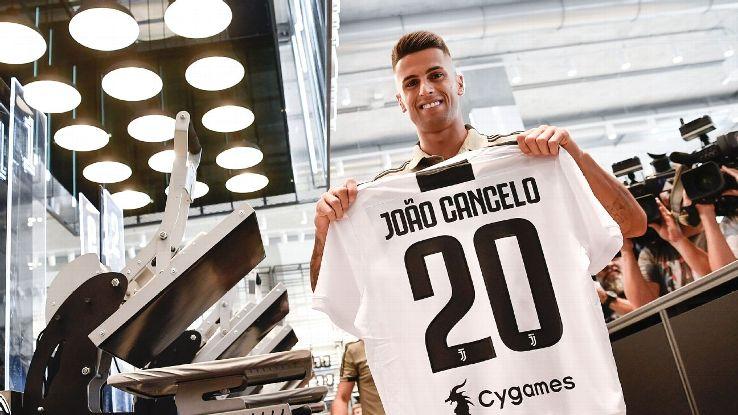 Juventus' Joao Cancelo