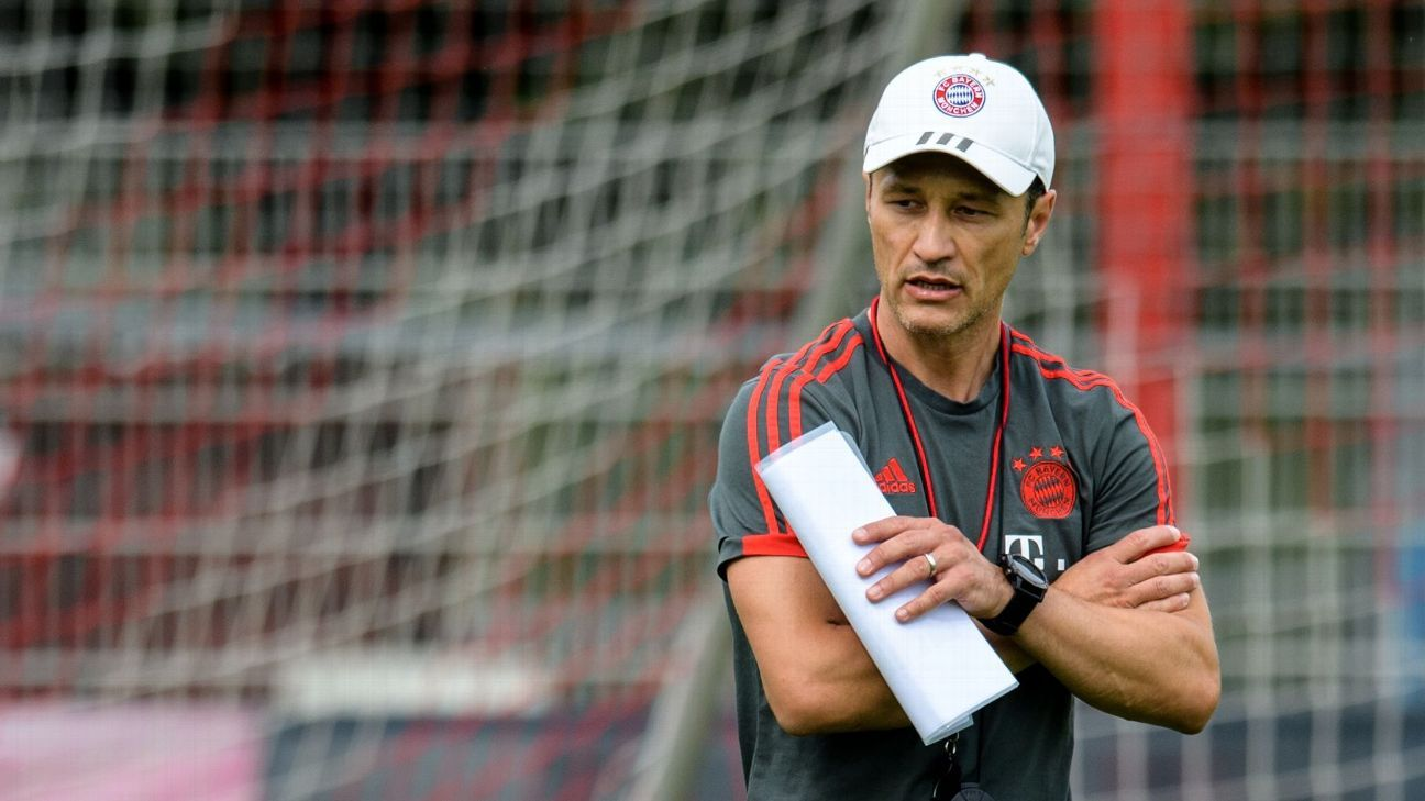 Bayern Munich coach Niko Kovac
