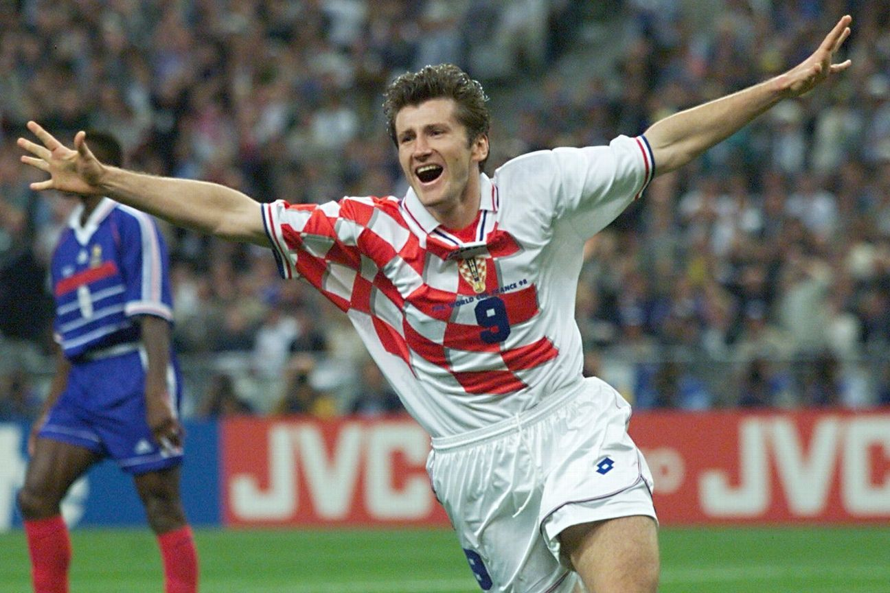 Davor Suker was the top goal-scorer at the 1998 World Cup.