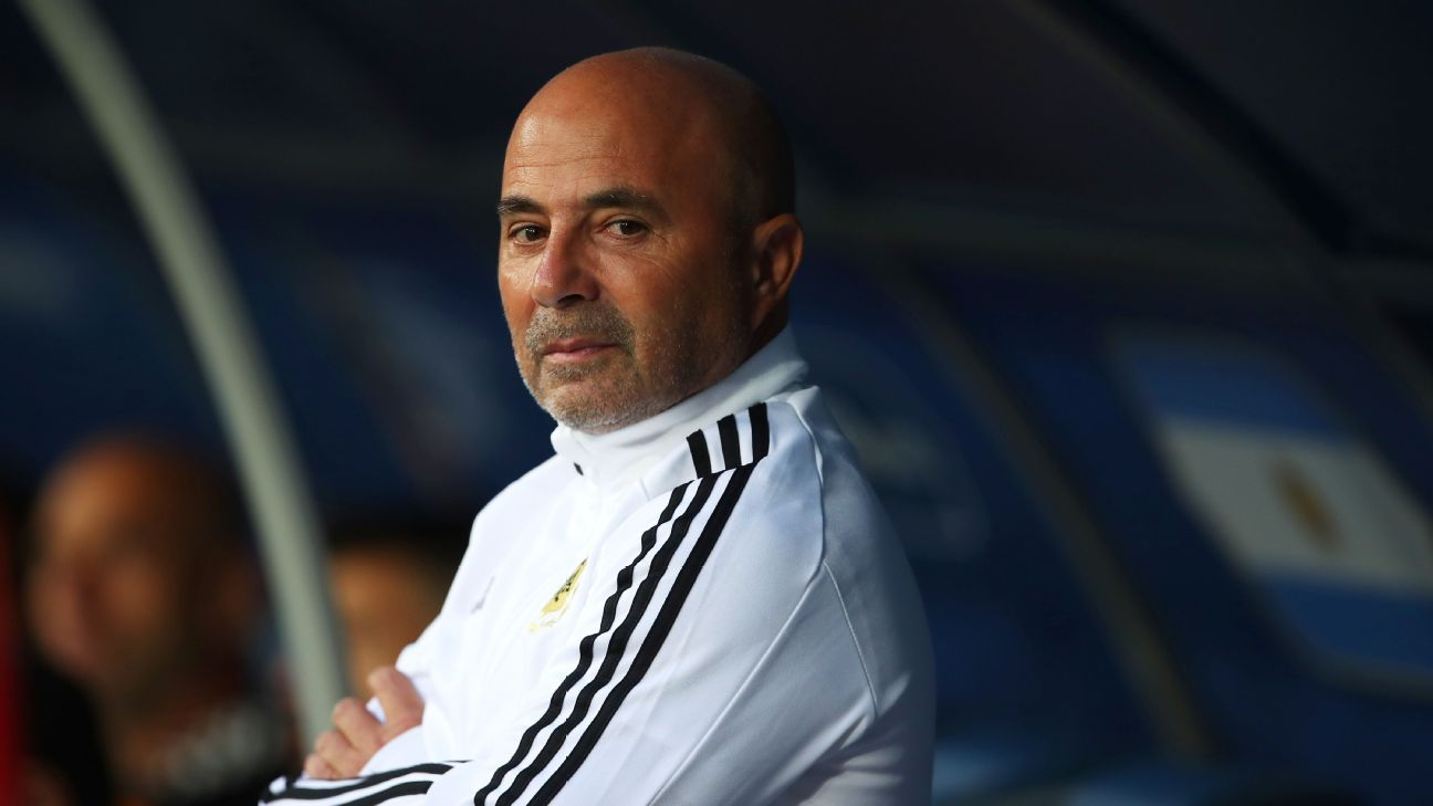 Argentina agree to part ways with coach Jorge Sampaoli after World Cup woe - sources