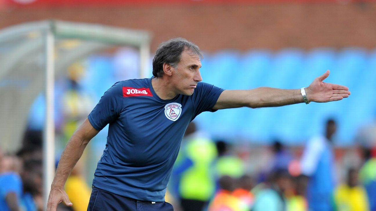 Giovanni Solinas has PSL experience, having coached Free State Stars in 2016.