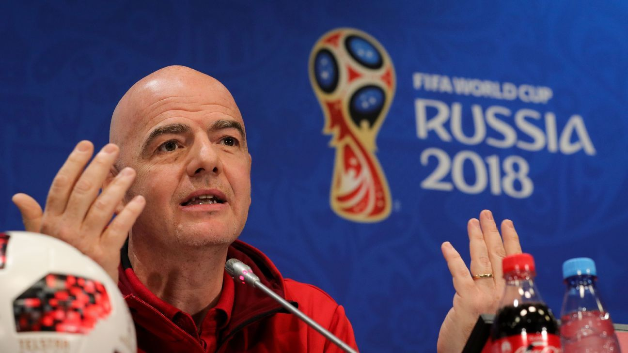 FIFA's Gianni Infantino: Other regions must challenge Europe's World Cup dominance
