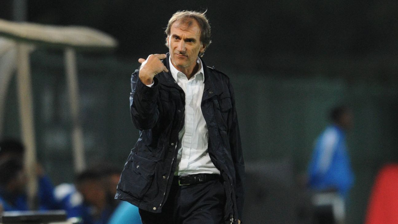 Giovanni Solinas during his time as Free State Stars coach
