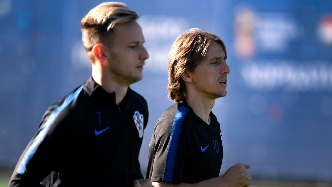 Meanwhile, Croatia's charge will be led by Ivan Rakitic and Luka Modric, the star midfielders at Barcelona and Real Madrid respectively.