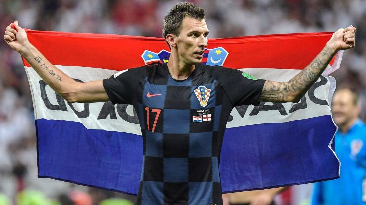 Mario Mandzukic's power, determination and eye for goal has helped Croatia reach the World Cup final.