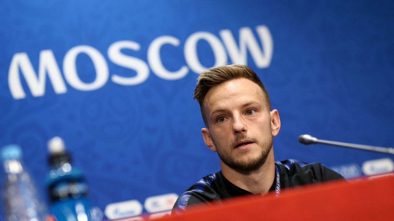 Croatia's Ivan Rakitic