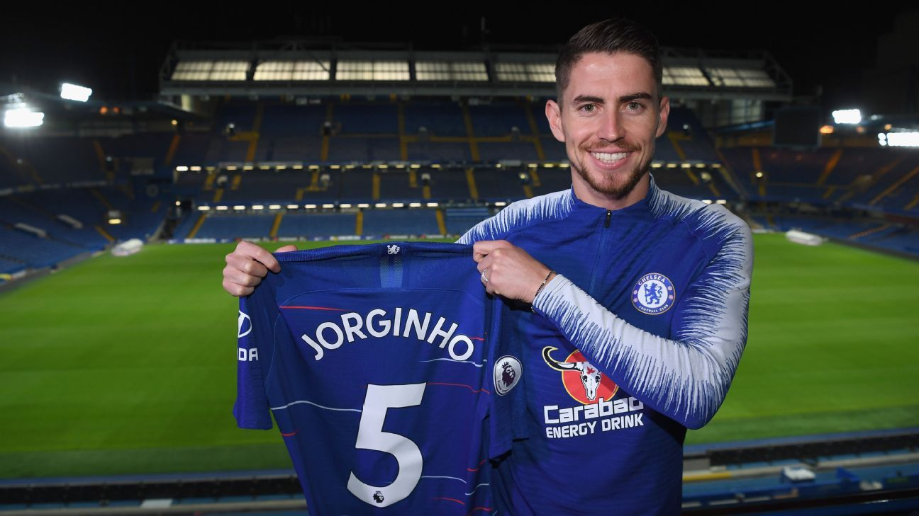 Chelsea's move for Jorginho made much more sense than last season's move for Danny Drinkwater.