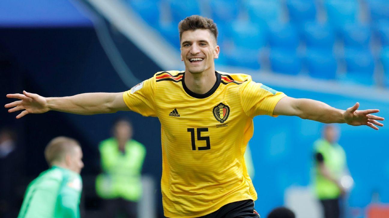 Belgium's Thomas Meunier