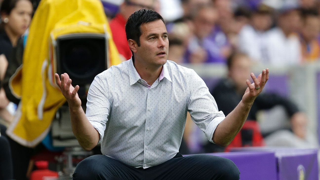 Real Salt Lake coach Mike Petke