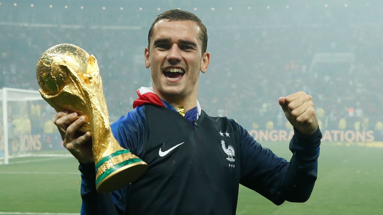 France's Antoine Griezmann is in the running to win the Ballon d'Or.