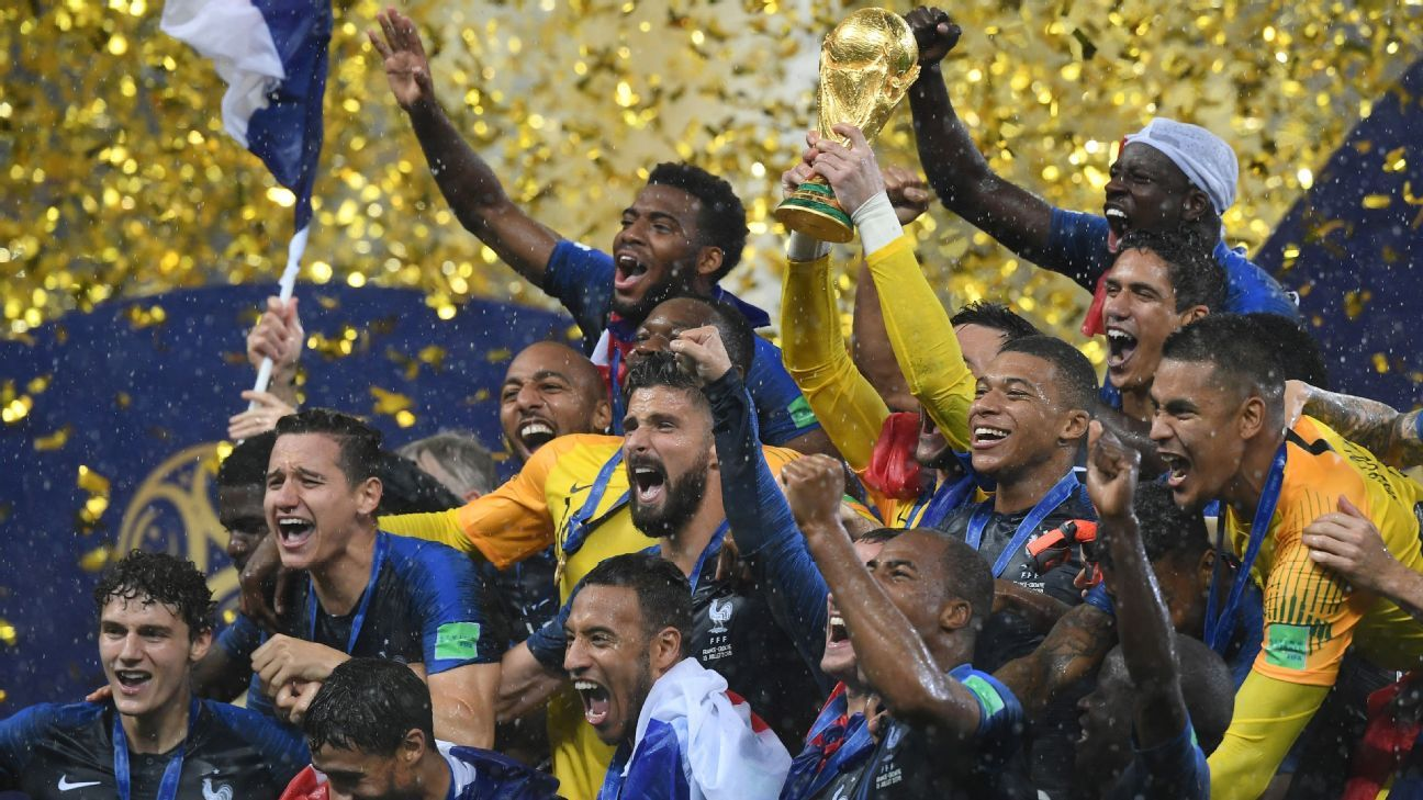 France took home the World Cup in 2018 but will they be as successful in Qatar next time out?