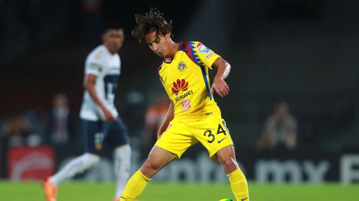 Club America teen Diego Lainez is one youngster set to break out in 2018.