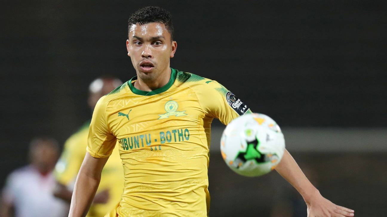 Ricardo Nascimento of Mamelodi Sundowns