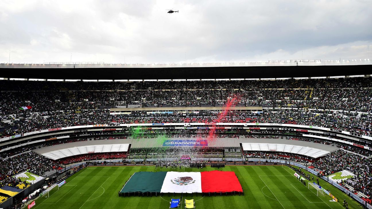 Cruz Azul and America will play on new turf at Azteca Stadium this season.