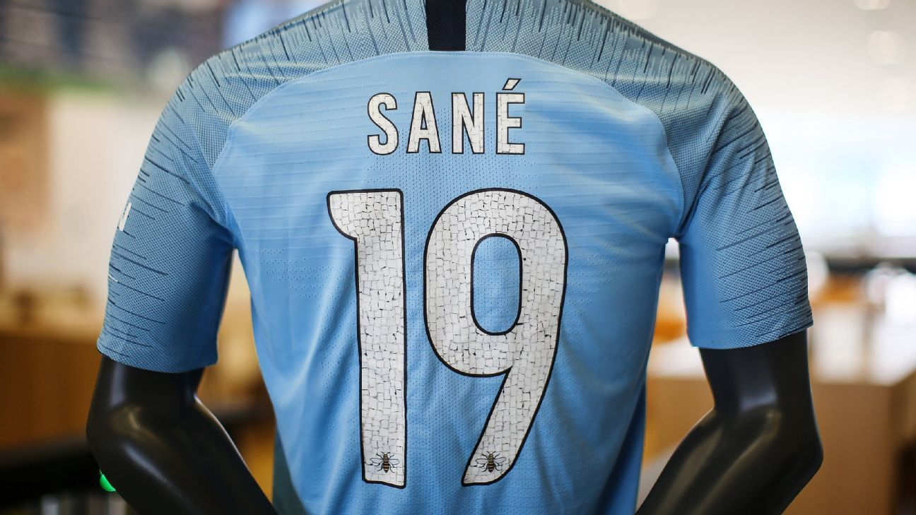 Manchester City will wear unique name and number fonts during their International Champions Cup matches in the U.S.
