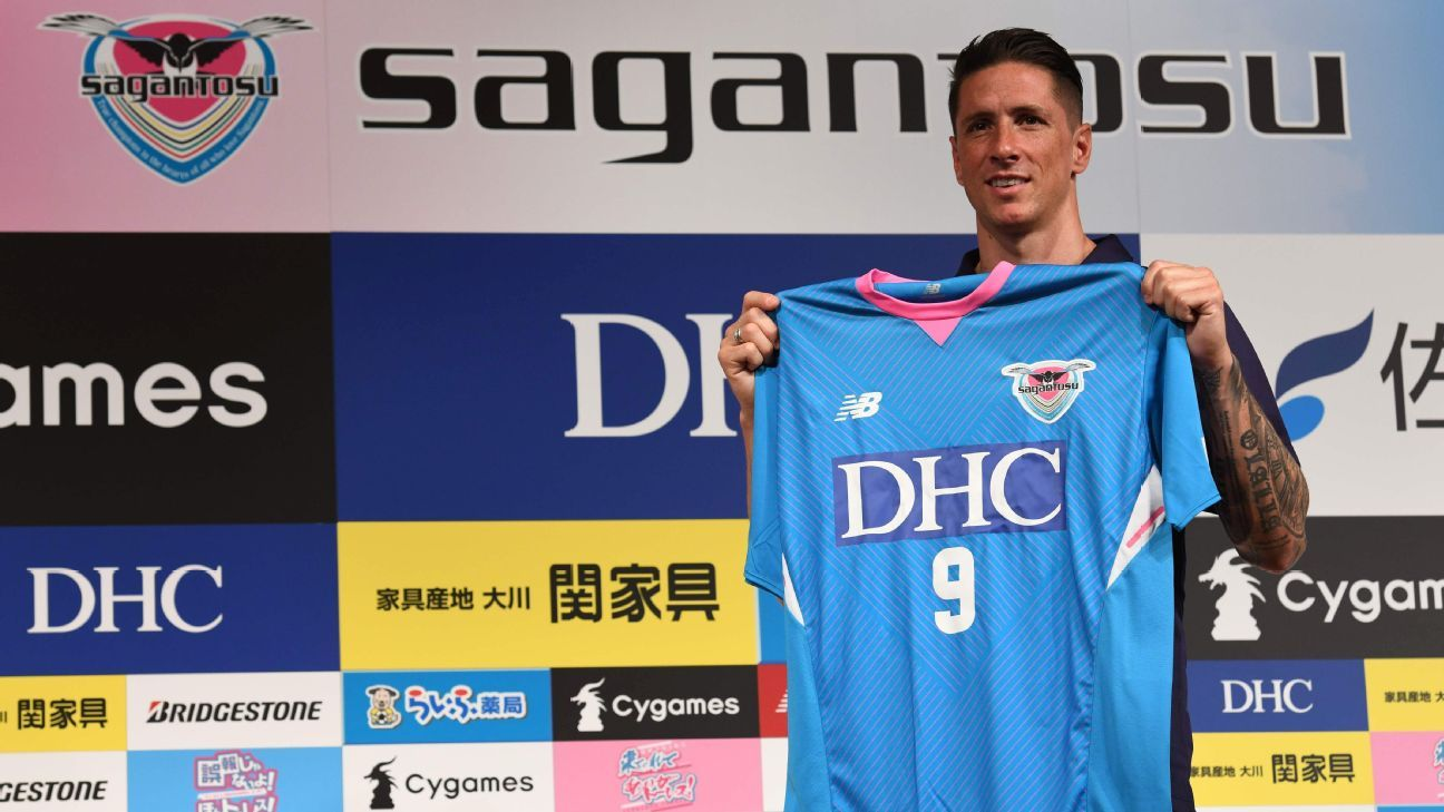 Fernando Torres is set to make his debut for Sagan Tosu of the J.League on Saturday.