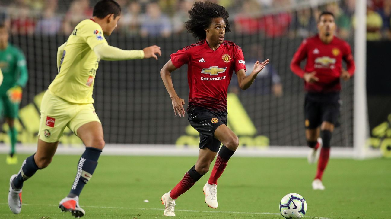 Tahith Chong impressed for Manchester United in Phoenix.