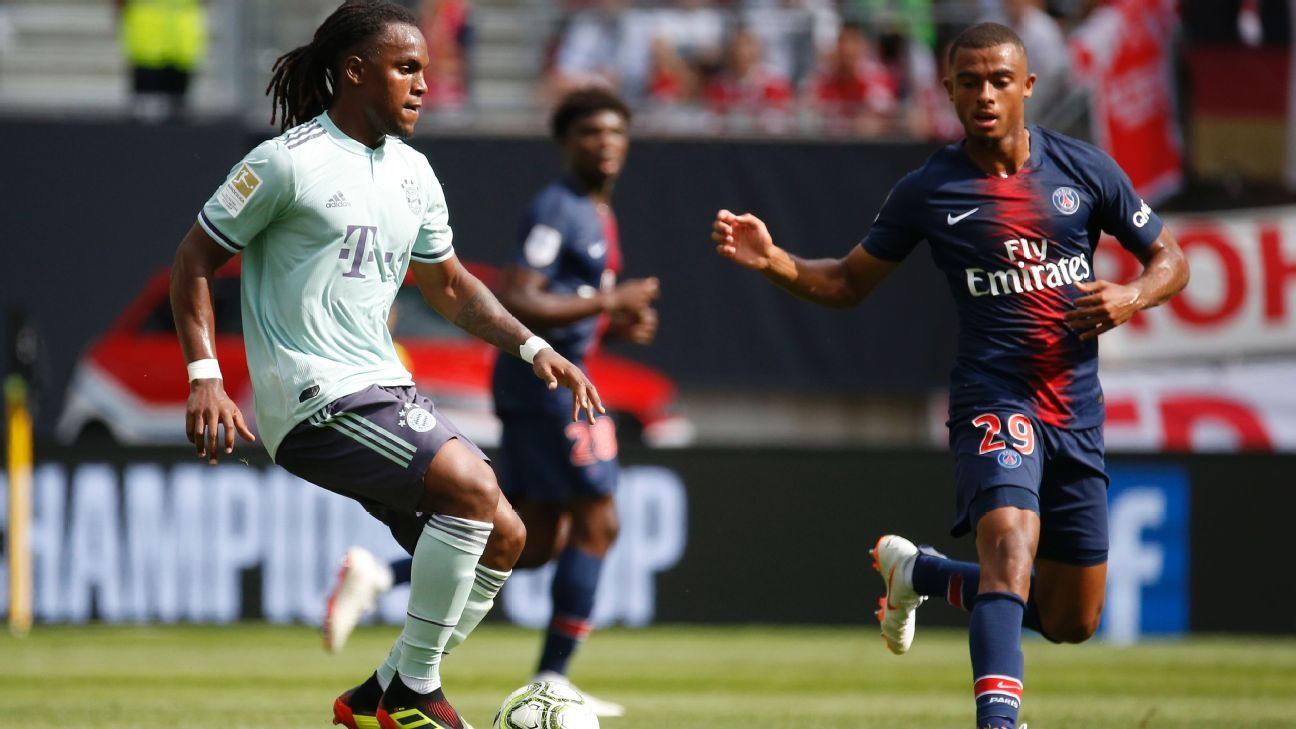 Renato Sanches had a goal in Bayern Munich's ICC win against Paris Saint-Germain.