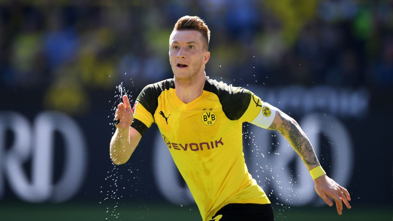 Reus has endured a lot of injuries since returning to Dortmund but remains the talented constant on this evolving team.