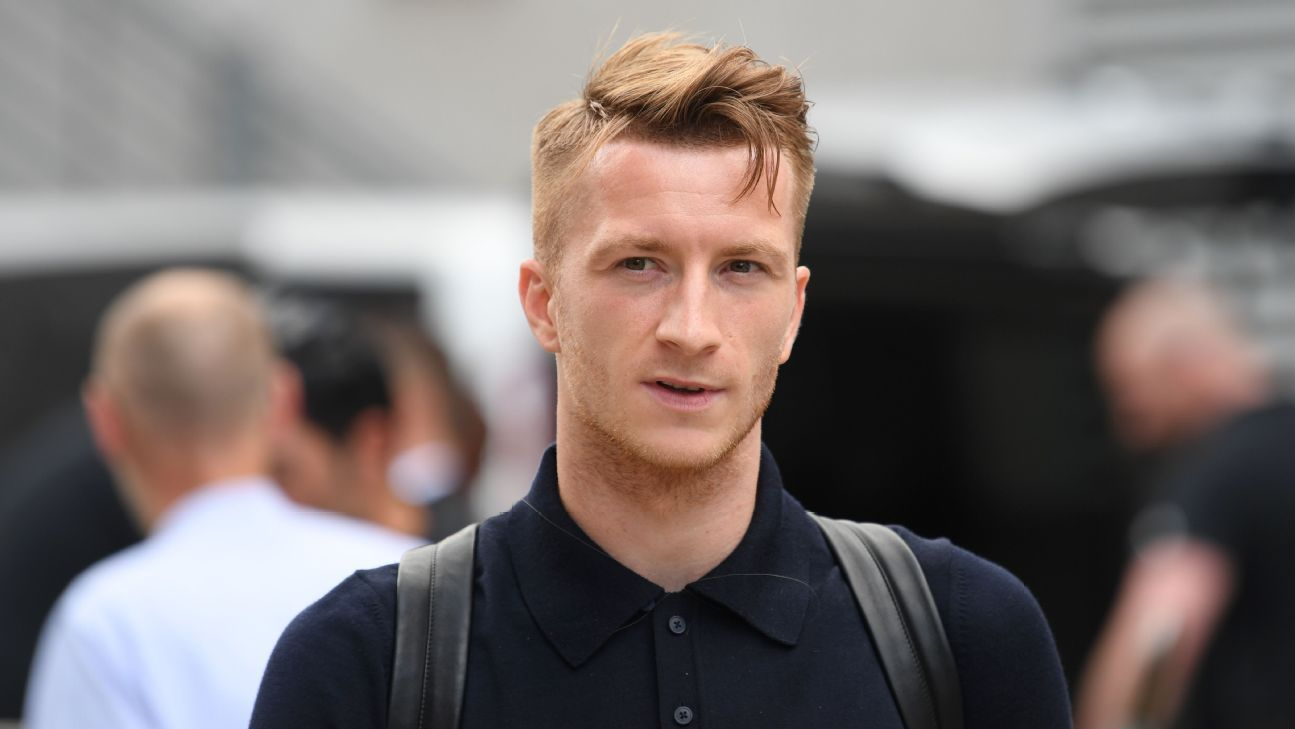Reus left Dortmund, returned again and has been linked with another move. But the 29-year-old insists he is happy where he is.