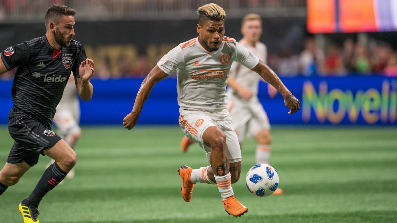Josef Martinez sets MLS hat-trick record in Atlanta United win over D.C. United