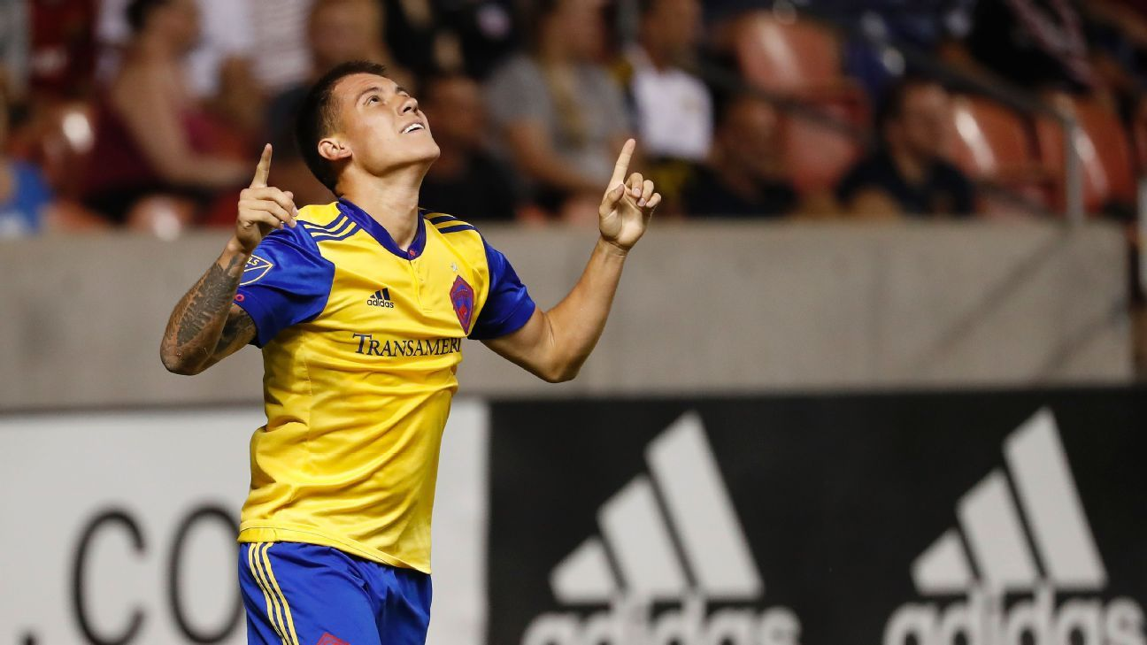 Colorado Rapids score late to force draw with Real Salt Lake