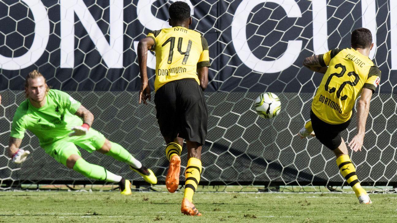 Liverpool's Loris Karius hits out at critics after loss to Dortmund