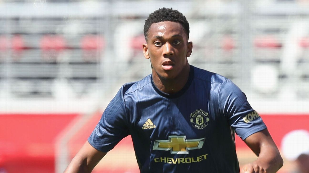 Anthony Martial left Manchester United's preseason tour to be at the birth of his child.