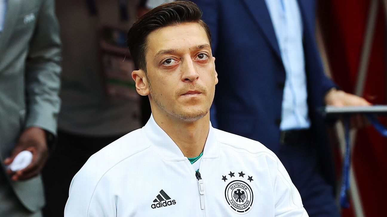Mesut Ozil was key to Germany's 2014 World Cup triumph but could not stop their early exit in Russia