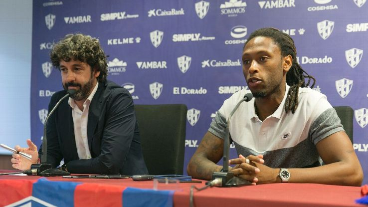 Huesca sporting director Emilio Vega said the loan of Ruben Semedo is 'a good deal for us in every sense'