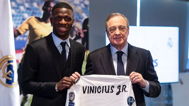Vinicius Junior is one of a host of Brazilian stars to make a high profile move this summer.