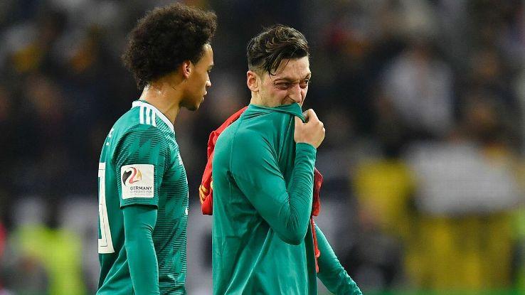 Leroy Sane says Mesut Ozil needs