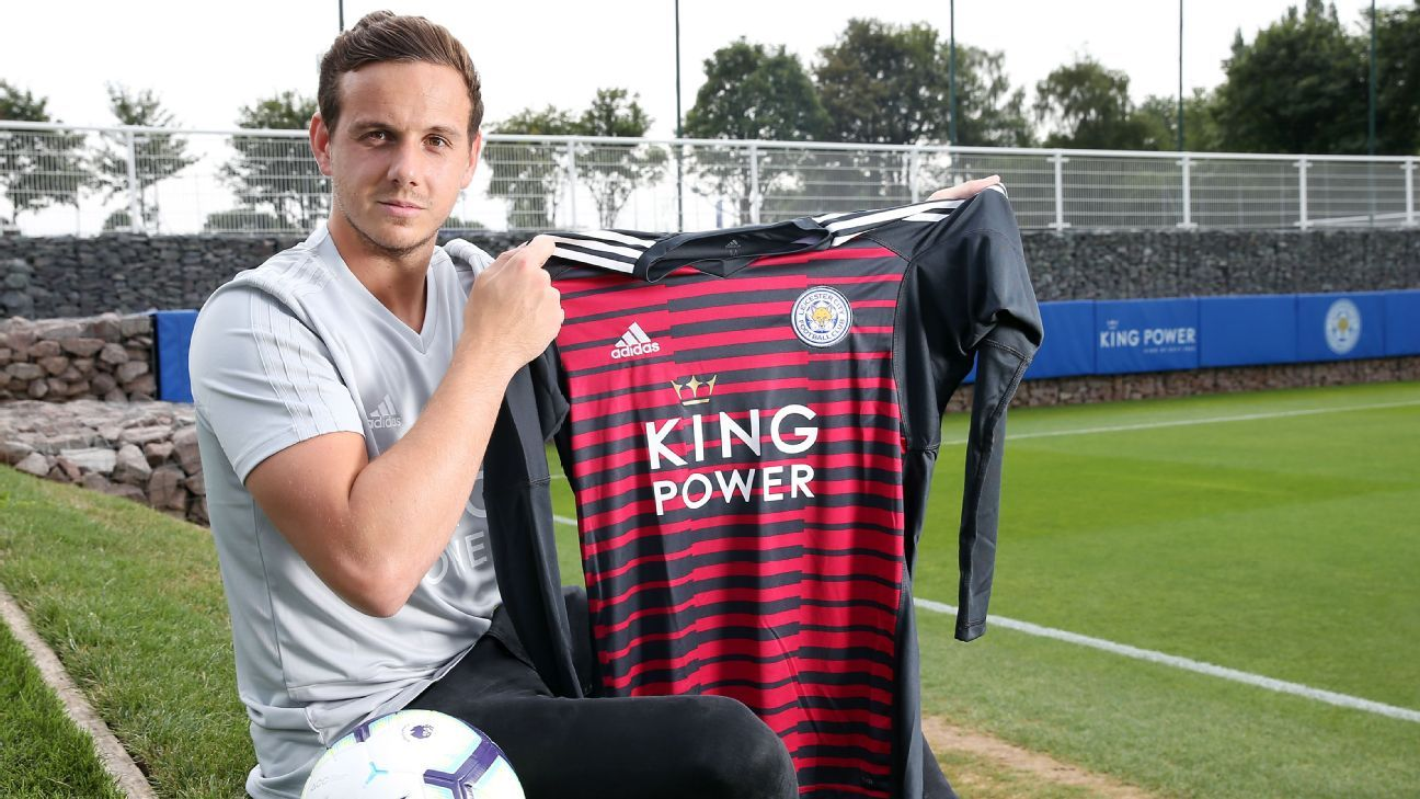 Danny Ward joined Leicester from Liverpool.