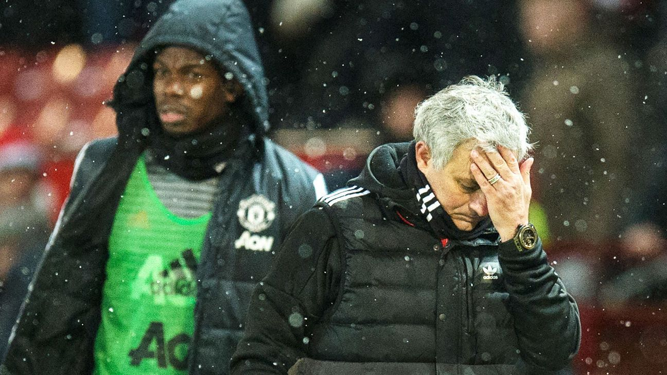 Paul Pogba was benched by Jose Mourinho during the 2017-18 season.
