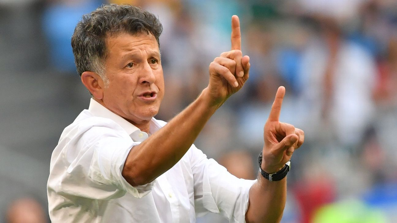 Juan Carlos Osorio's future with Mexico remains undecided.