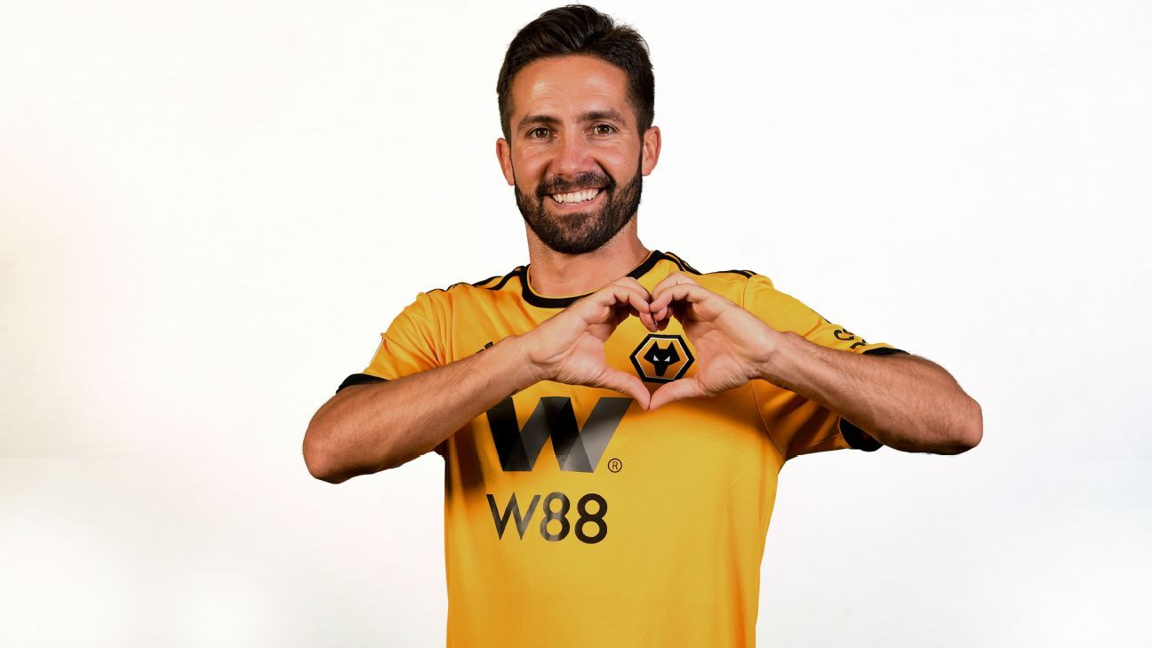 Joao Moutinho joined Wolves from Monaco on a two-year contract.
