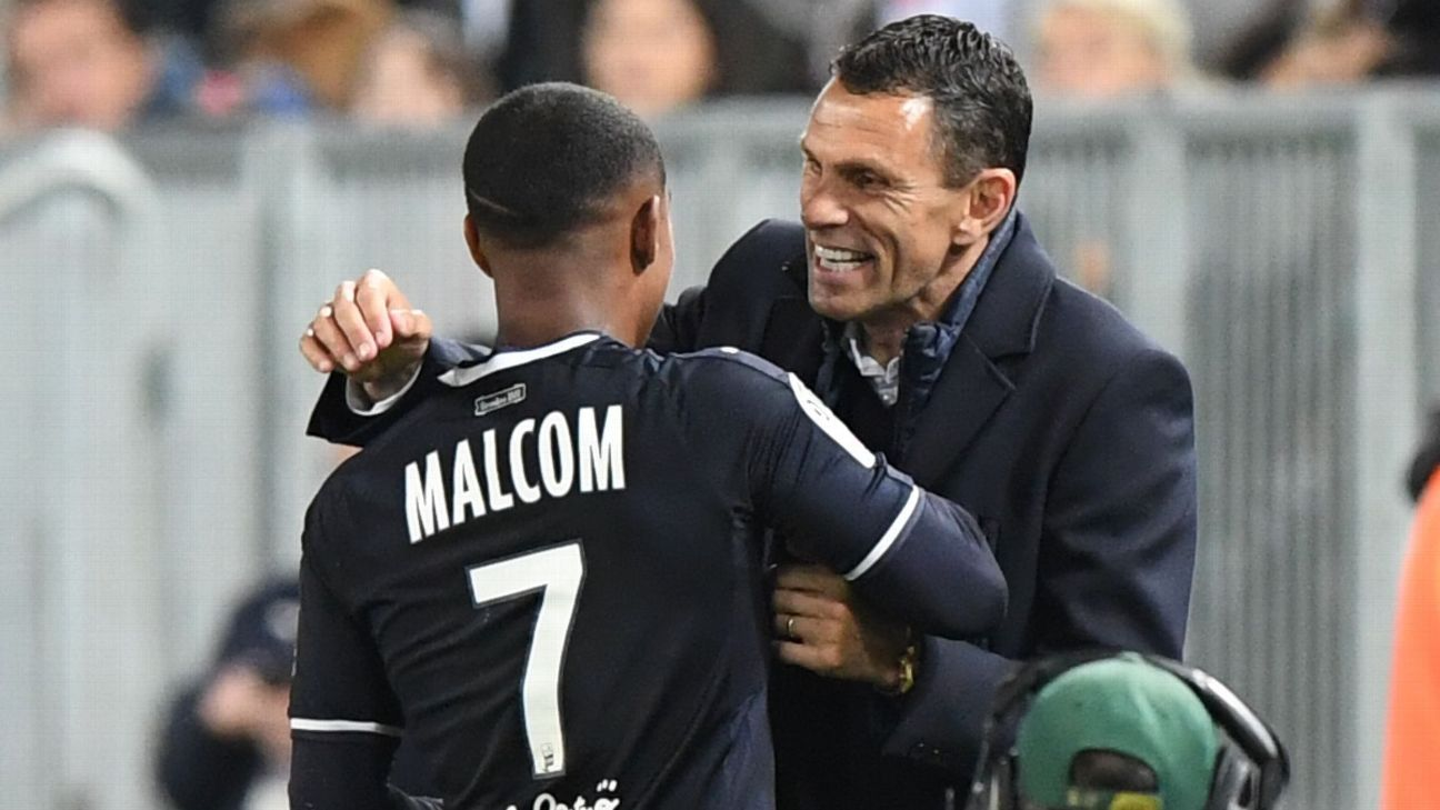 Malcom has been backed to succeed at Barcelona by Gus Poyet, his former coach at Bordeaux