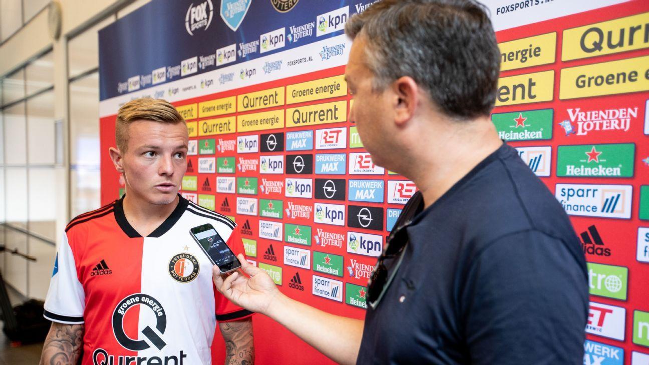 Jordy Clasie has left Southampton to join Feyenoord.