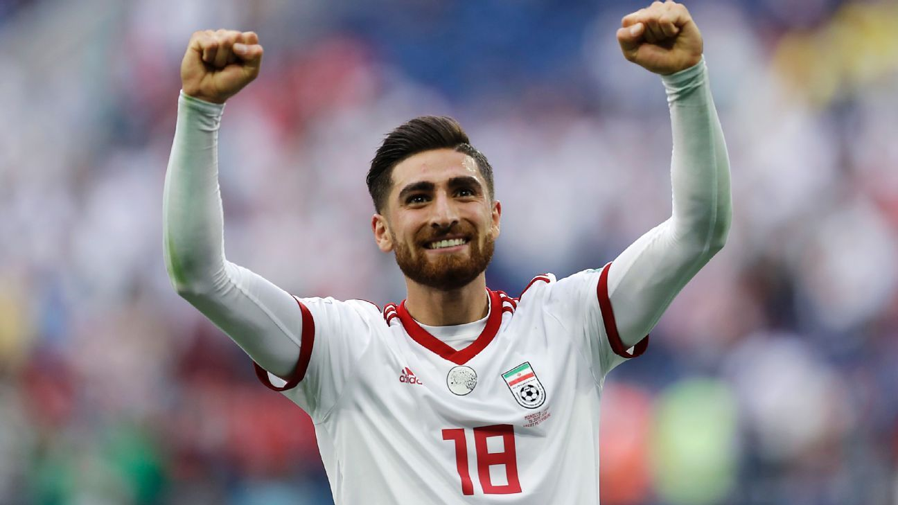 Alireza Jahanbakhsh participated at the 2018 World Cup.