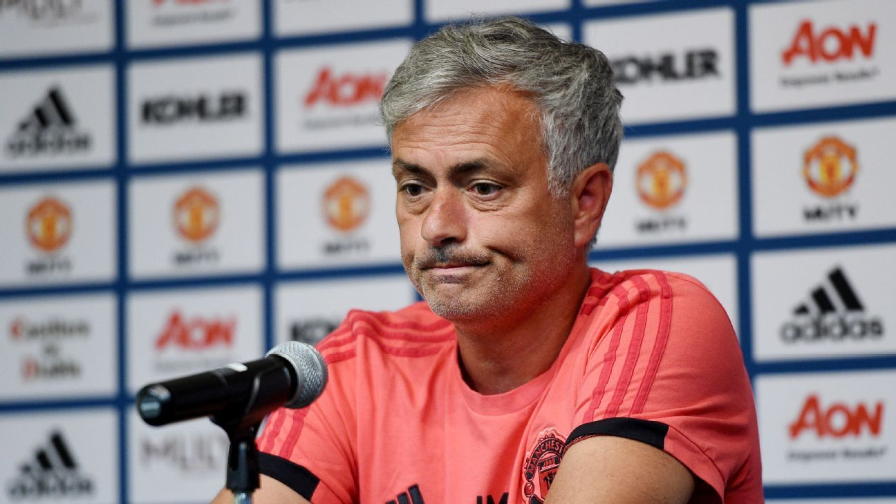 Jose Mourinho cut a frustrated figure on Manchester United's preseason tour.