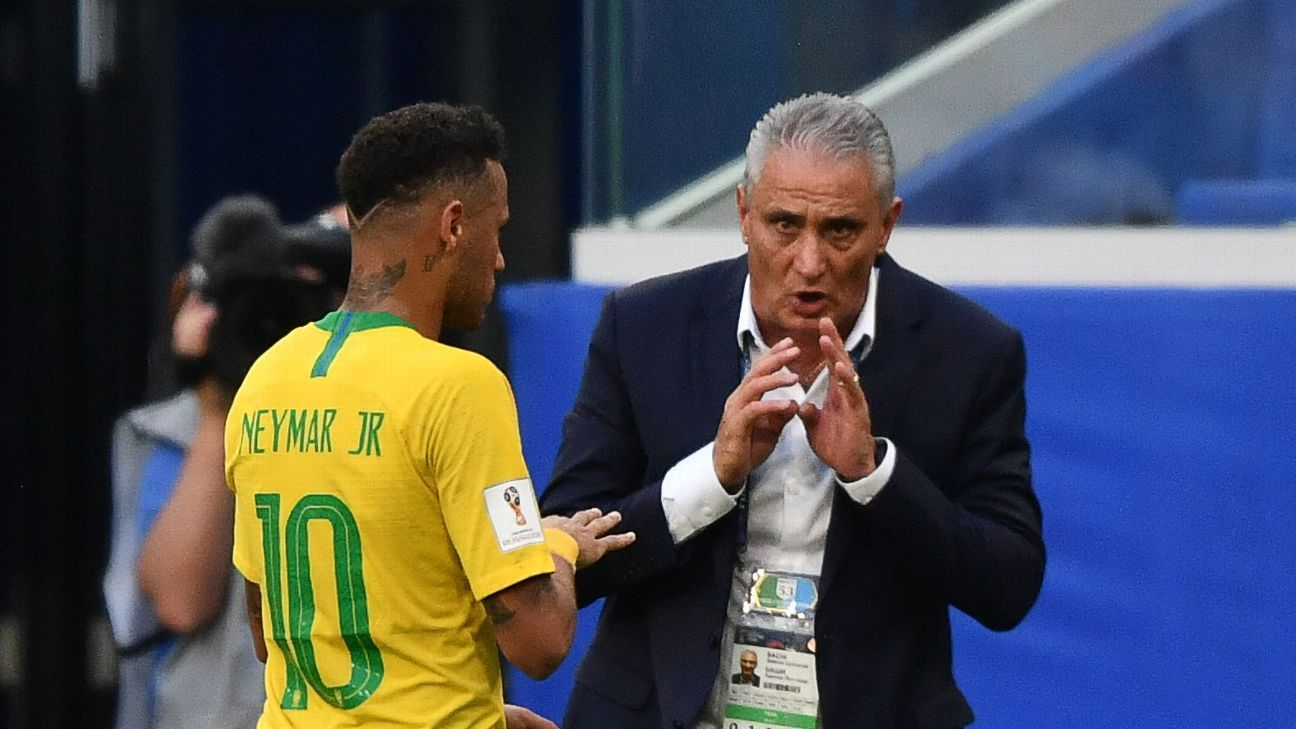 Tite's new contract with Brazil keeps him in charge through the 2022 World Cup.